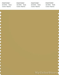 PANTONE SMART 16-0730X Color Swatch Card, Antique Gold