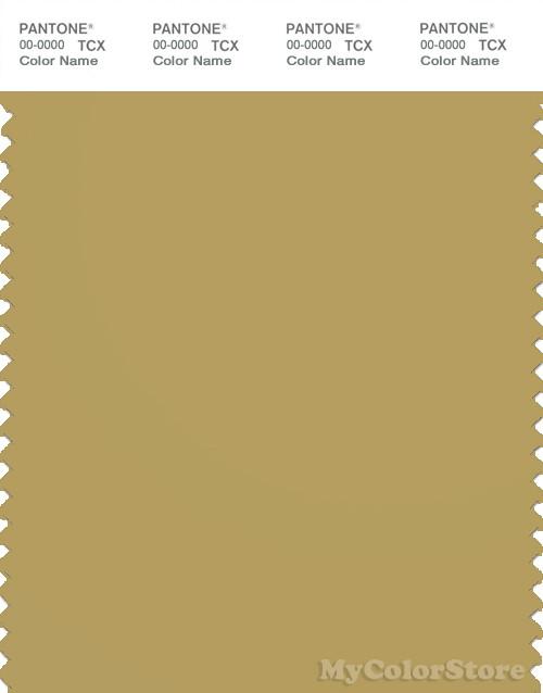 PANTONE SMART 16-0730X Color Swatch Card, Antique Gold