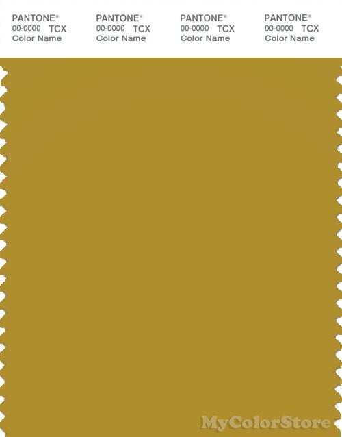 PANTONE SMART 16-0742X Color Swatch Card, Green Sulphur