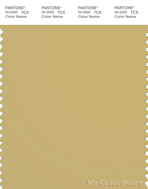 PANTONE SMART 16-0836X Color Swatch Card, Rich Gold