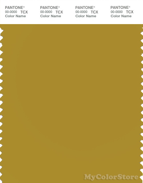 PANTONE SMART 16-0847X Color Swatch Card, Light Olive Green