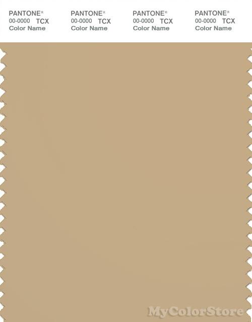 PANTONE SMART 16-0924X Color Swatch Card, Croissant
