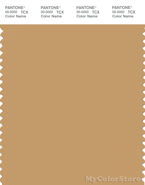 PANTONE SMART 16-0940X Color Swatch Card, Taffy
