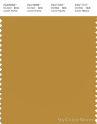 PANTONE SMART 16-0948X Color Swatch Card, Harvest Gold