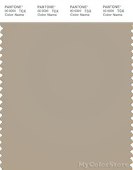 PANTONE SMART 16-1105X Color Swatch Card, Plaza Taupe