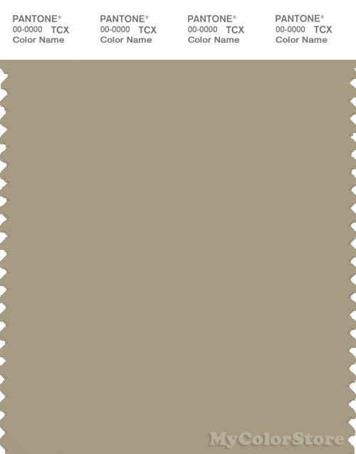PANTONE SMART 16-1108X Color Swatch Card, Twill