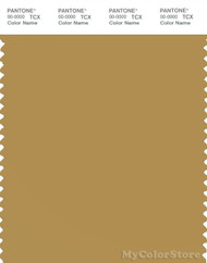 PANTONE SMART 16-1133X Color Swatch Card, Mustard Gold