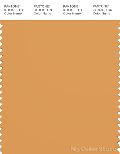 Download PANTONE SMART 16-1142 TCX Color Swatch Card | Pantone Golden Nugget