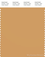 PANTONE SMART 16-1144X Color Swatch Card, Oak Buff