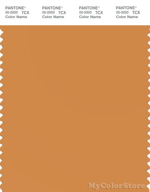 PANTONE SMART 16-1148X Color Swatch Card, Nugget