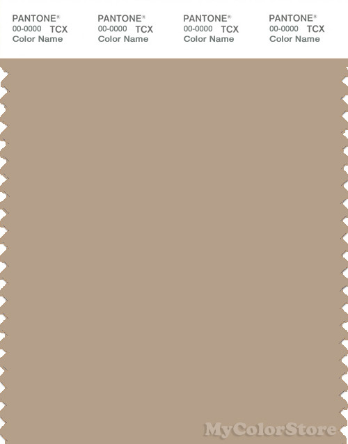 PANTONE SMART 16-1212X Color Swatch Card, Nomad