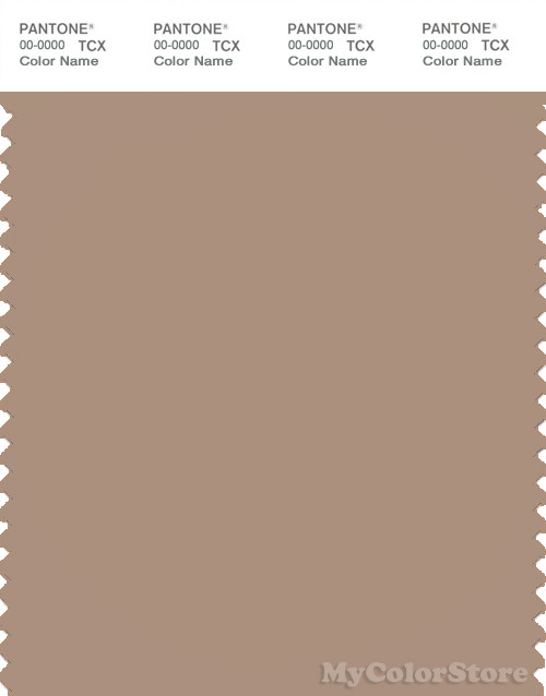 PANTONE SMART 16-1310X Color Swatch Card, Natural