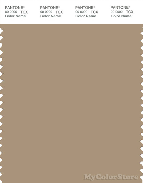 PANTONE SMART 16-1315X Color Swatch Card, Cornstalk