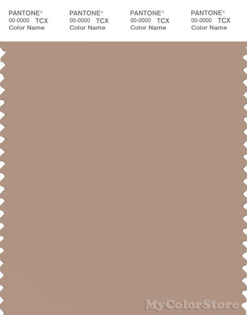 PANTONE SMART 16-1318X Color Swatch Card, Warm Taupe