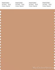 PANTONE SMART 16-1331X Color Swatch Card, Toast