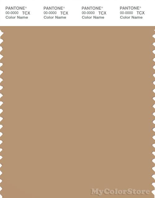 PANTONE SMART 16-1334X Color Swatch Card, Tan
