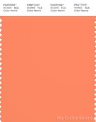 PANTONE SMART 16-1442X Color Swatch Card, Melon