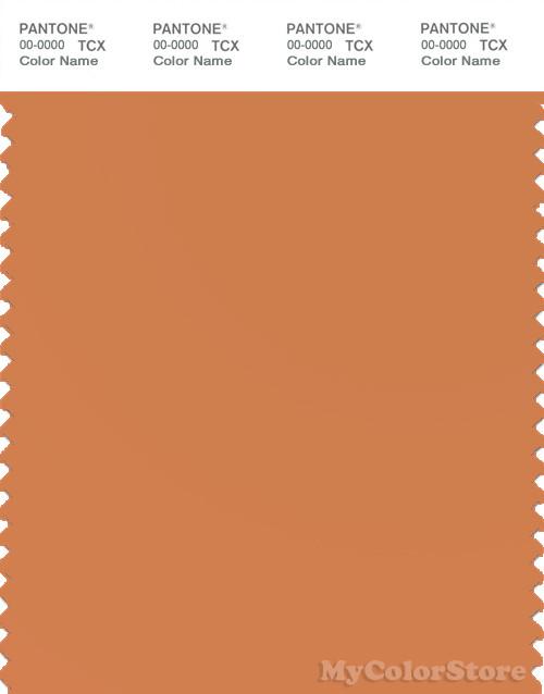 PANTONE SMART 16-1443X Color Swatch Card, Apricot Buff