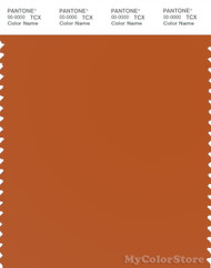 PANTONE SMART 16-1449X Color Swatch Card, Gold Flame