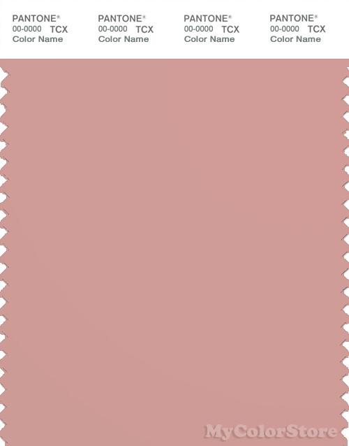 PANTONE SMART 16-1511X Color Swatch Card, Rose Tan