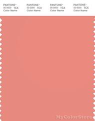 PANTONE SMART 16-1529X Color Swatch Card, Burnt Coral