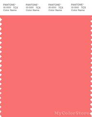 PANTONE SMART 16-1641X Color Swatch Card, Georgia Peach