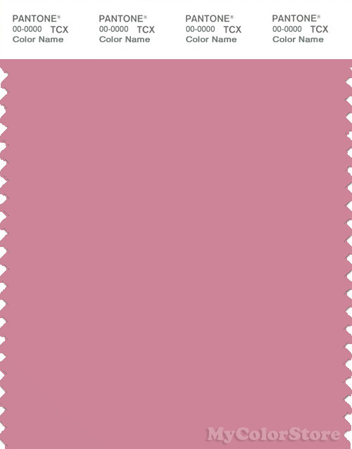 PANTONE SMART 16-1715X Color Swatch Card, Wild Rose