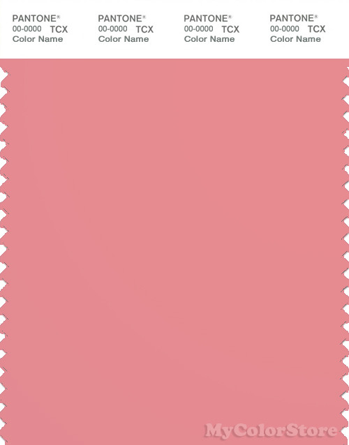 PANTONE SMART 16-1720X Color Swatch Card, Strawberry Ice