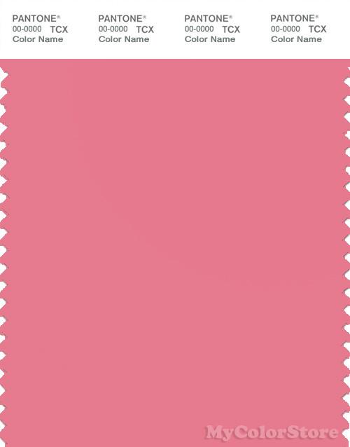 PANTONE SMART 16-1723X Color Swatch Card, Confetti