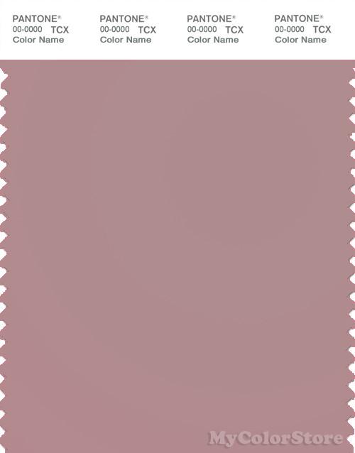 PANTONE SMART 16-1806X Color Swatch Card, Woodrose
