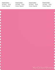 PANTONE SMART 16-2124X Color Swatch Card, Pink Carnation