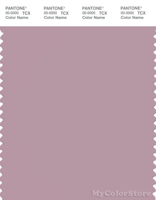 PANTONE SMART 16-3205X Color Swatch Card, Mauve Shadows