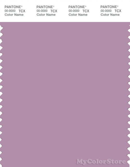 PANTONE SMART 16-3310X Color Swatch Card, Grayish Lavender