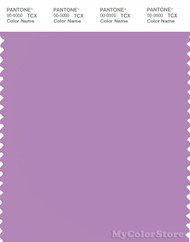 PANTONE SMART 16-3520X Color Swatch Card, African Violet