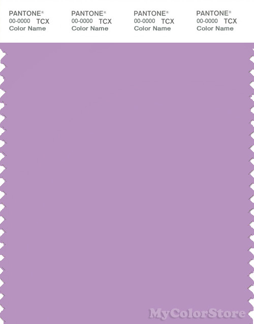 PANTONE SMART 16-3617X Color Swatch Card, Sheer Lilac