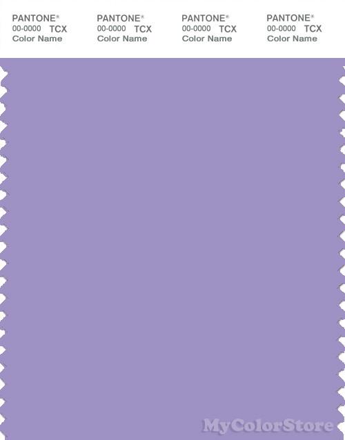 PANTONE SMART 16-3823X Color Swatch Card, Violet Tulip