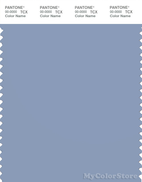 PANTONE SMART 16-4019X Color Swatch Card, Forever Blue