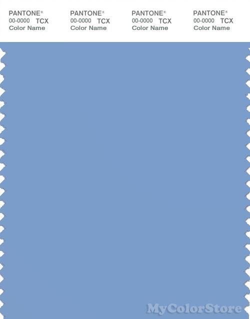 PANTONE SMART 16-4020X Color Swatch Card, Della Robbia Blue