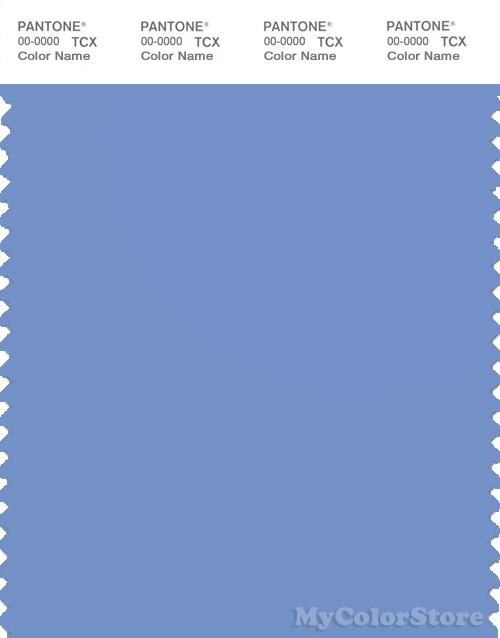 PANTONE SMART 16-4031X Color Swatch Card, Cornflower Blue
