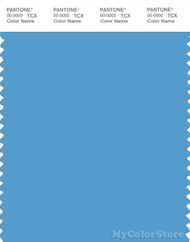 PANTONE SMART 16-4134X Color Swatch Card, Bonnie Blue
