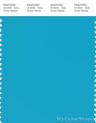 PANTONE SMART 16-4529X Color Swatch Card, Cyan Blue