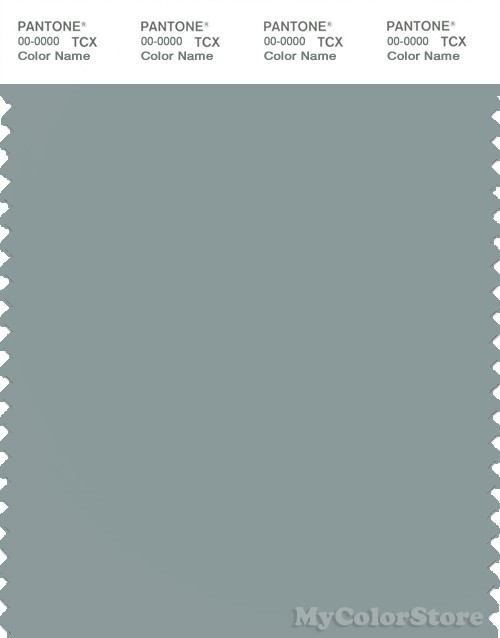 PANTONE SMART 16-4706X Color Swatch Card, Silver Blue