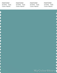 PANTONE SMART 16-5114X Color Swatch Card, Dusty Turquoise