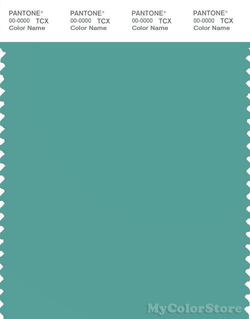 PANTONE SMART 16-5119X Color Swatch Card, Sea Blue