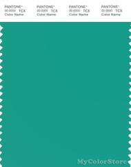 PANTONE SMART 16-5421X Color Swatch Card, Sea Green