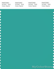 PANTONE SMART 16-5422X Color Swatch Card, Bright Aqua