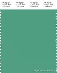 PANTONE SMART 16-5924X Color Swatch Card, Winter Green