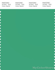 PANTONE SMART 16-5930X Color Swatch Card, Ming Green
