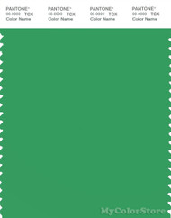 PANTONE SMART 16-6138X Color Swatch Card, Kelly Green