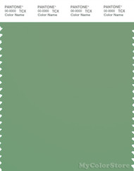 PANTONE SMART 16-6318X Color Swatch Card, Mineral Green